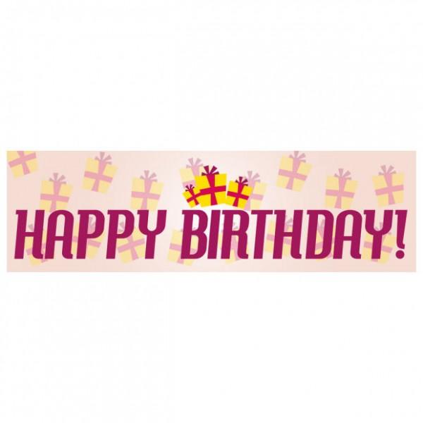 Banner - Happy Birthday - 361