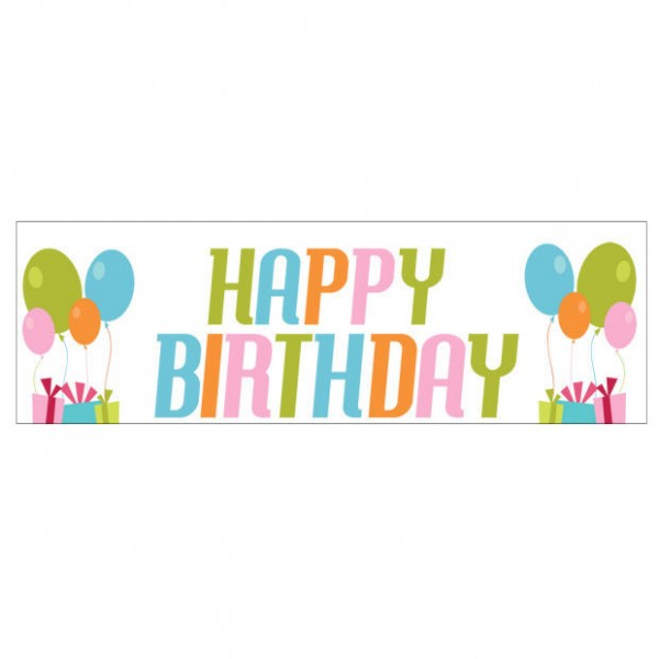 Banner - Happy Birthday - 365