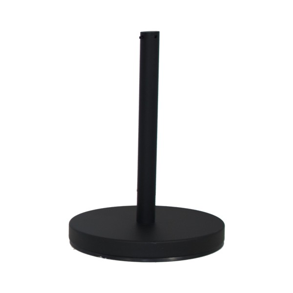 Black Half Height Barrier Post