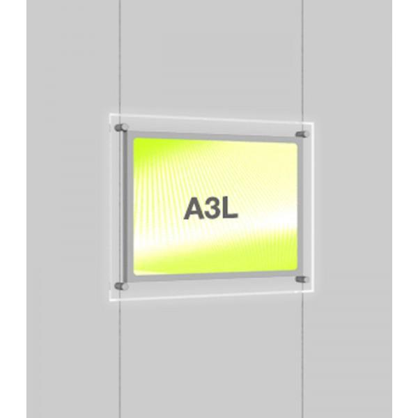 LED A3 Poster Light Pockets