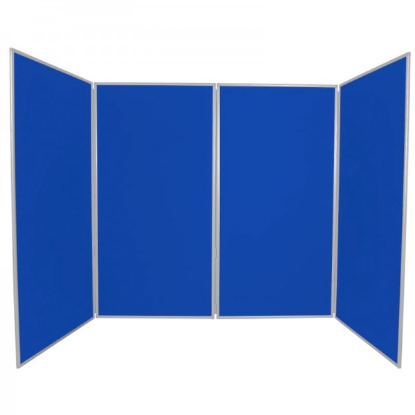 School display boards with plastic safety hinge