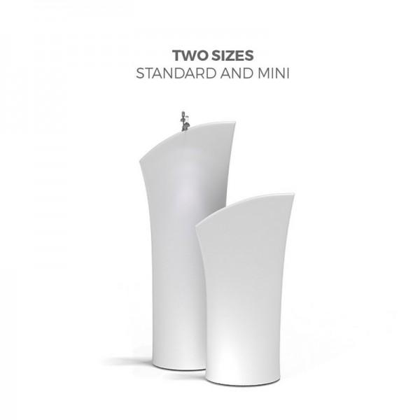 Size Comparison of the Mini and the Standard