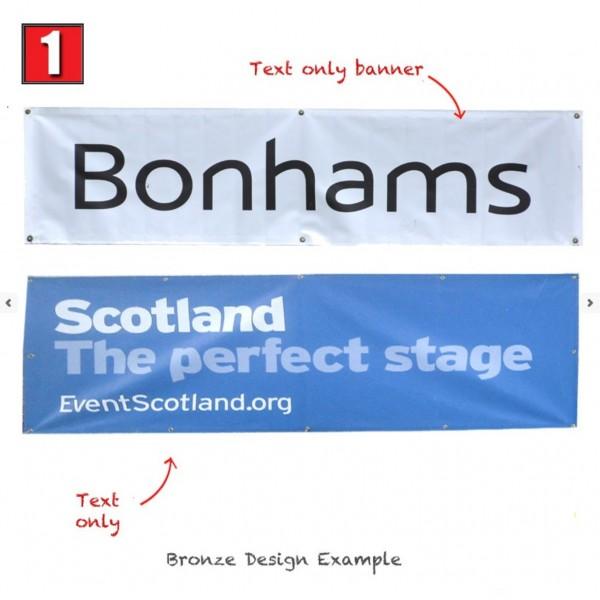 Basic Text Only Banner design
