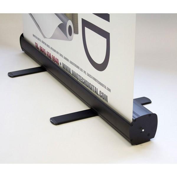 Carbon roller banner stand base
