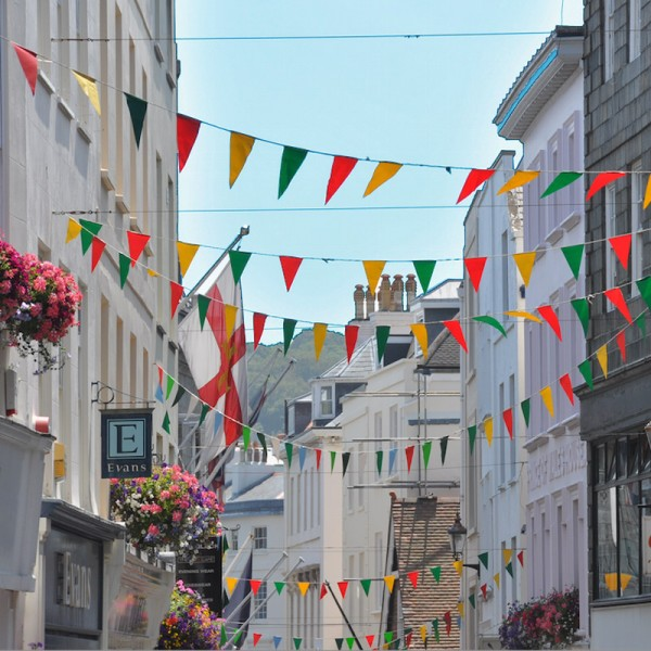 Bunting Used outdoors
