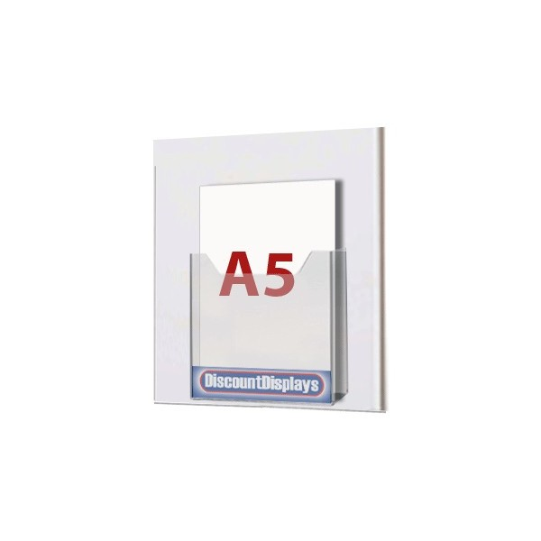 1xA5 Leaflet Dispenser on A4 Centre