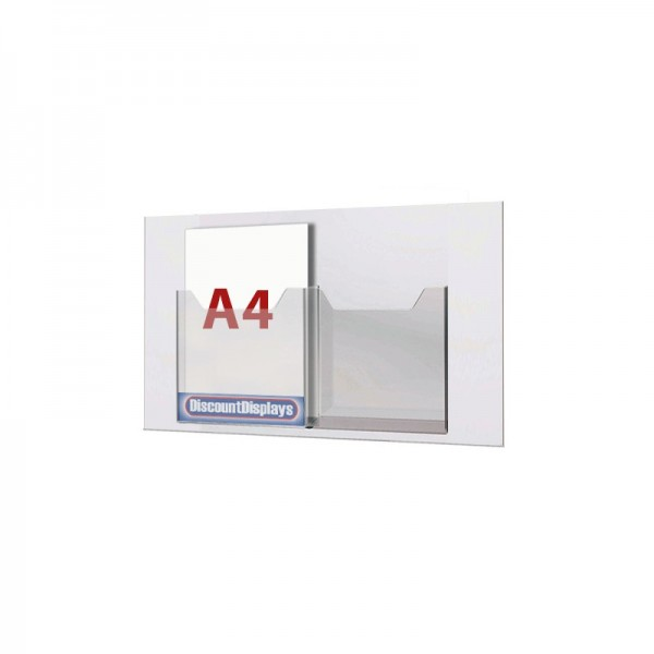 Claer panel with clear 30mm deep pockets