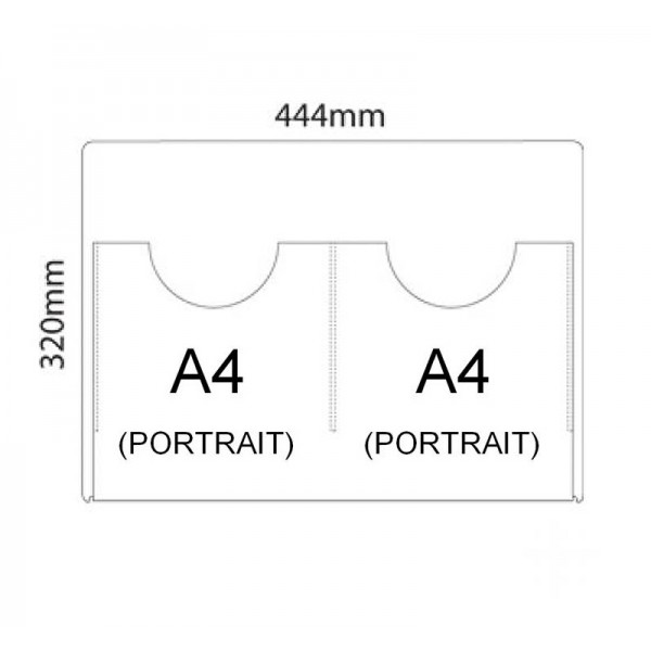 Clear pocket sizes