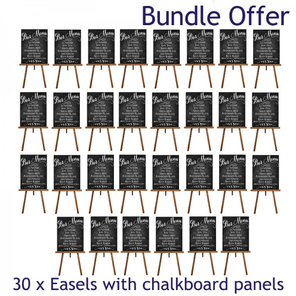 Special offer bundle - 30 display easels