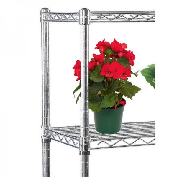 Modular wire shelves