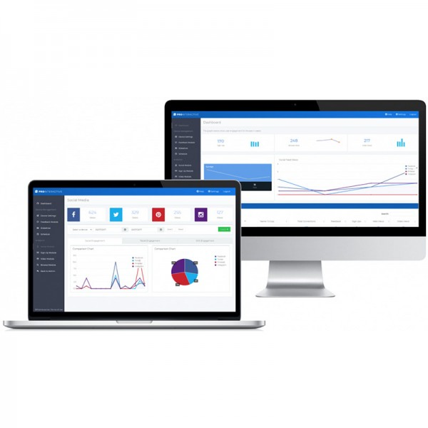 Manage all data and media remotely for all devices using the cloud management system