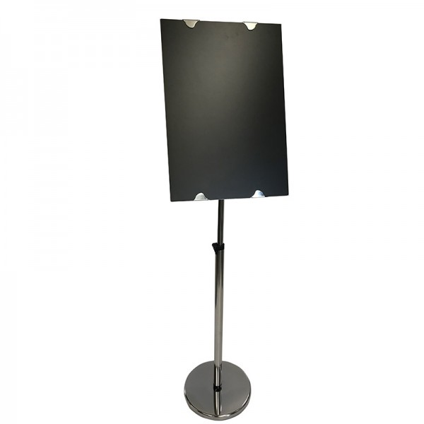 Stainless Steel Easel and Chalkboard Package