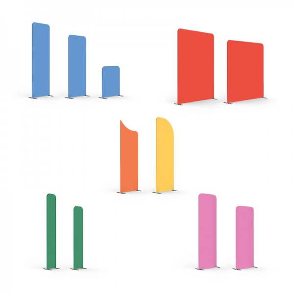 Create Your Own Modulate™ Tension Fabric Display Stand