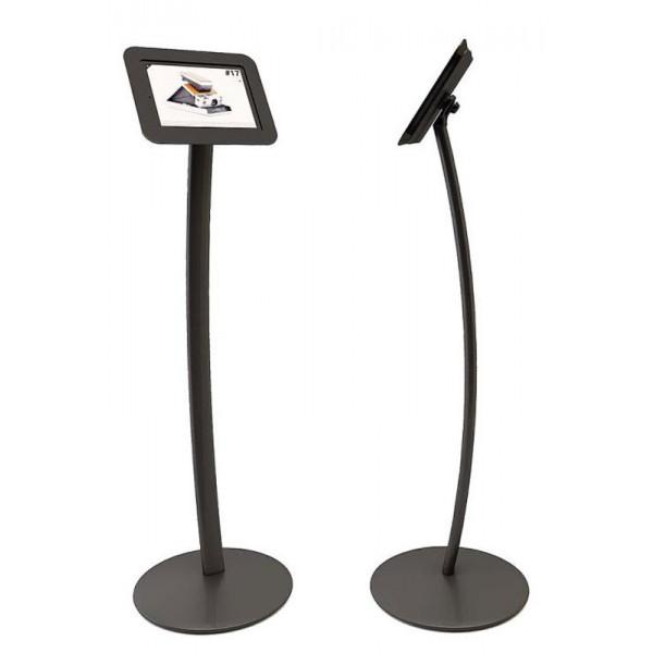 Curved ipad display stand