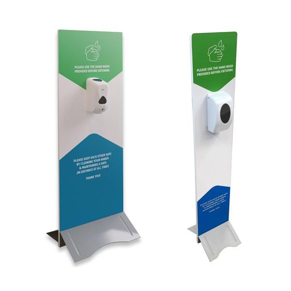 Custom Printed Hand Sanitiser Station