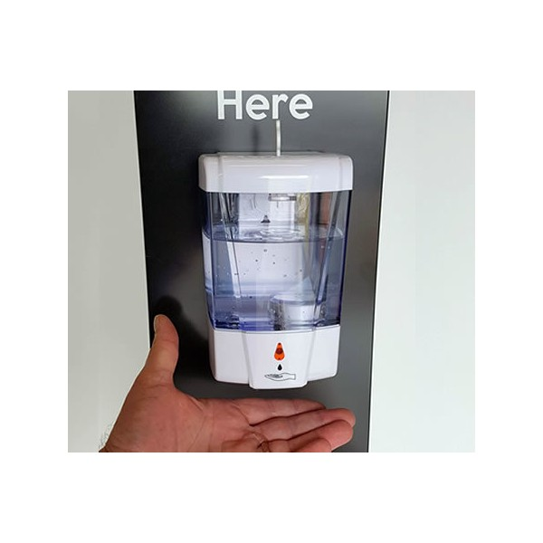 Automatic no touch sanitiser dispenser