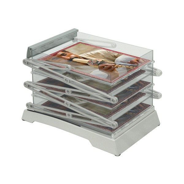 Literature Display - Compact Double Sided - Folded