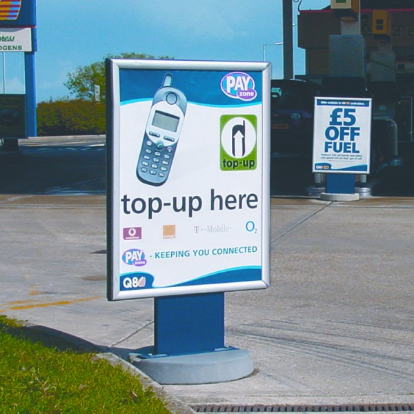 Forecourt Sign Stand