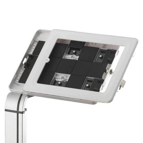 Secure desk tablet stand