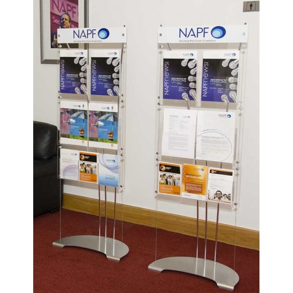 Example of Dimension display stands