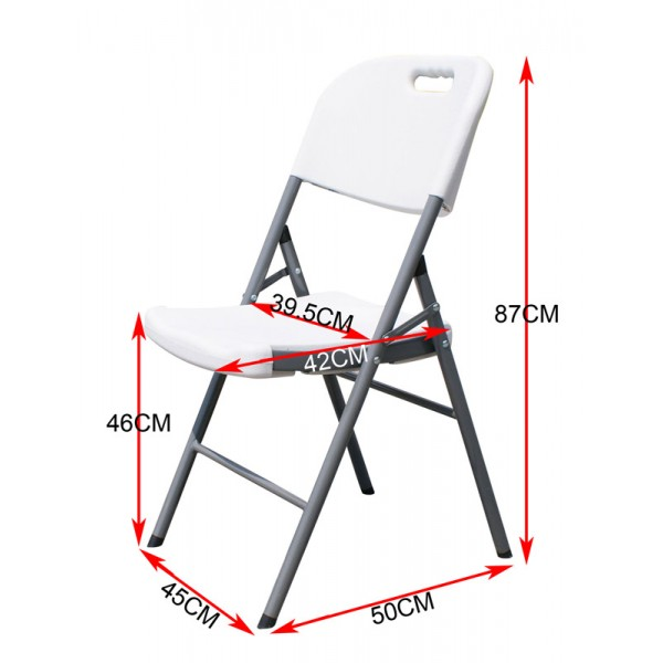 Event chair sizes