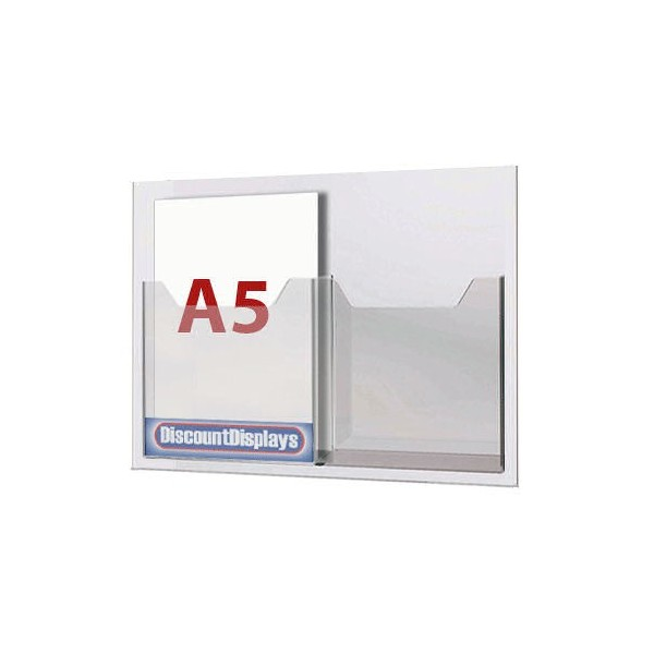 2xA5 Leaflet Dispenser on A3 Centre
