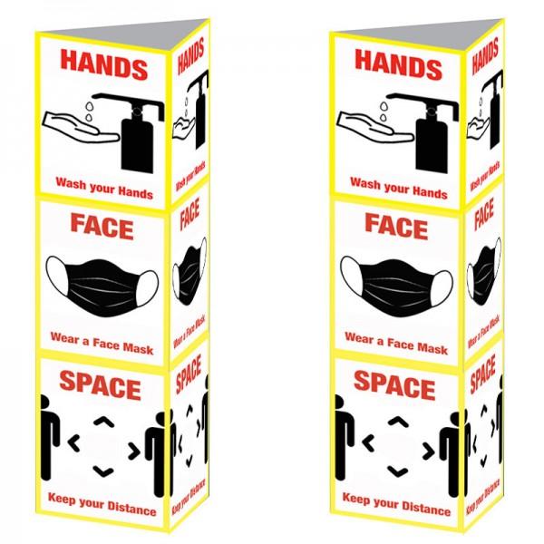 Hands, Face, Space Design