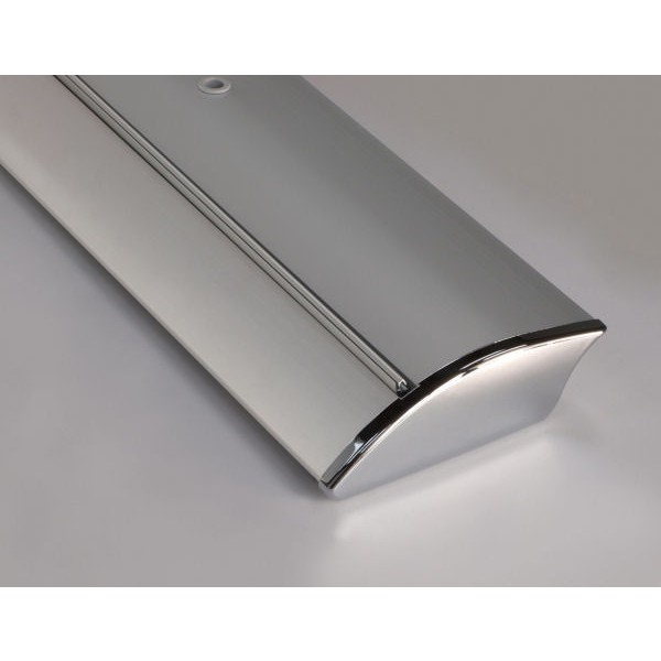 Metal base end cap