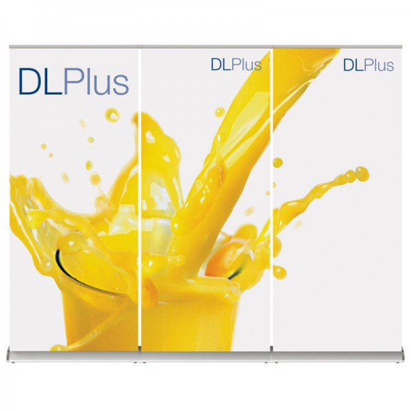 Pull Up Linked Banner Stand Wall - 3 Linked Units