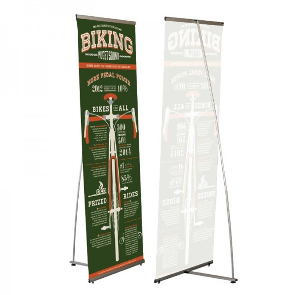 Discount Banner Stand - 600/800/1000mm Widths Available