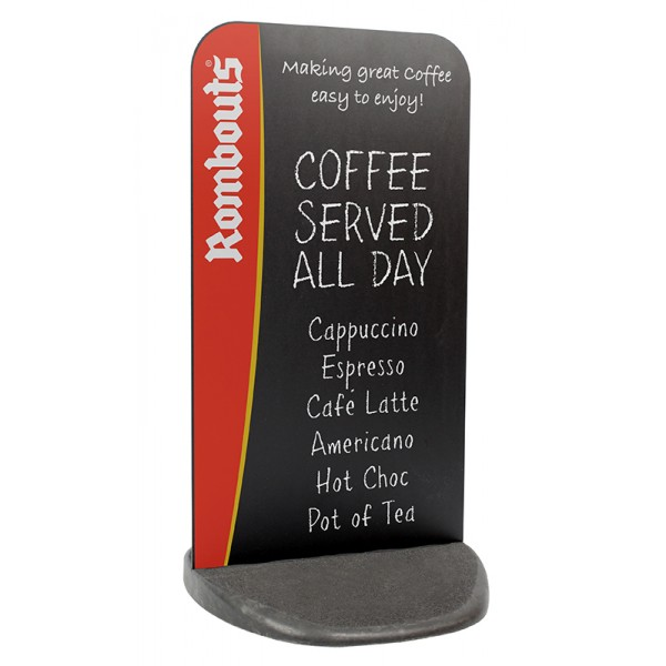 Flexible Chalkboard Sign with optional printed graphic