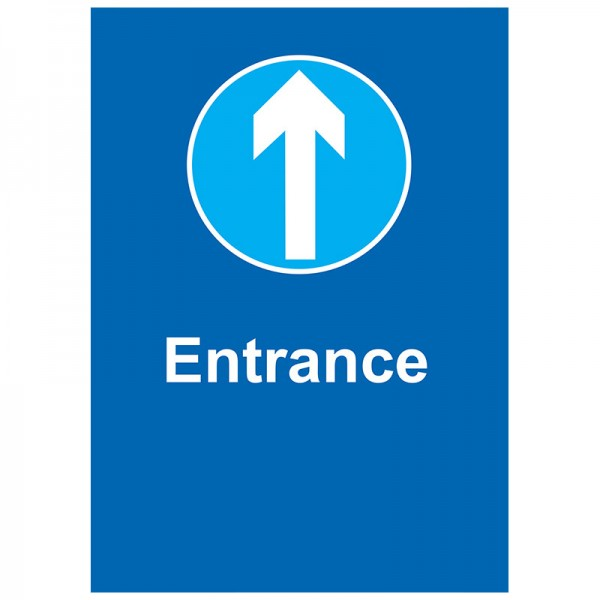 Entrance - Pack of 10 - A2 Poster or Sticker