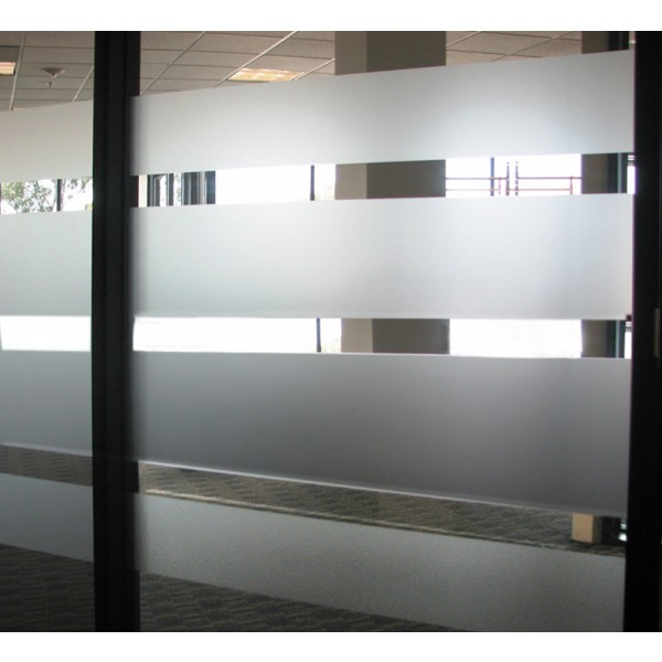 Gives Security and Privacy etched effect vinyl