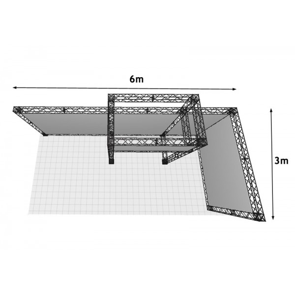 Designed to fit a 6m x 3m space