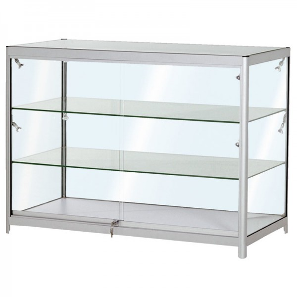 Glass Display Counter