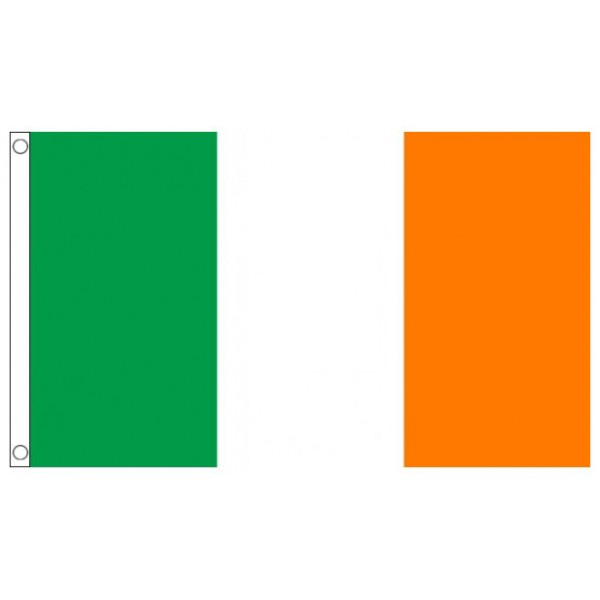 Nylon Republic of Ireland Flag - 5ft x 3ft Printed Flag