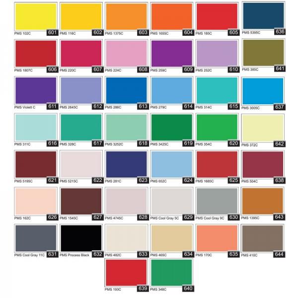 Standard Colour Swatch