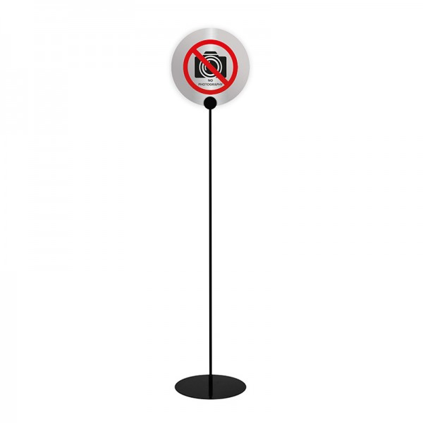 Add your own signs to this simple to use holder