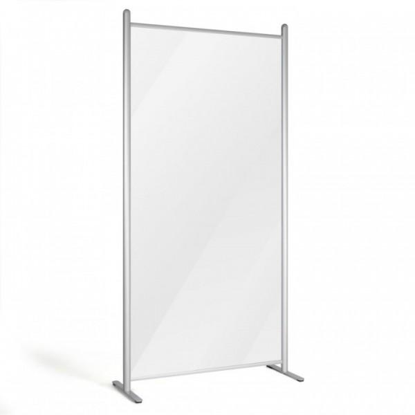 Floor Standing Protective Clear Screen Separator