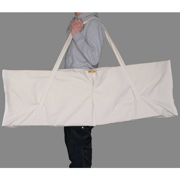 Folding lectern with carry bag