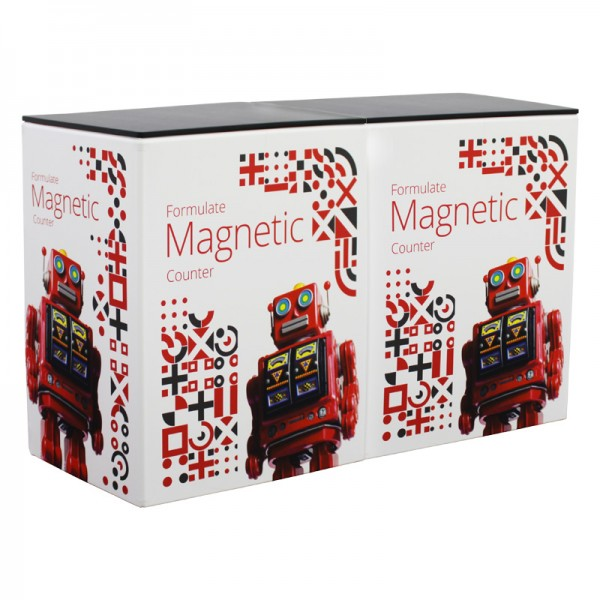 Formulate Magnetic Cubes Connected Using Internal Magnets