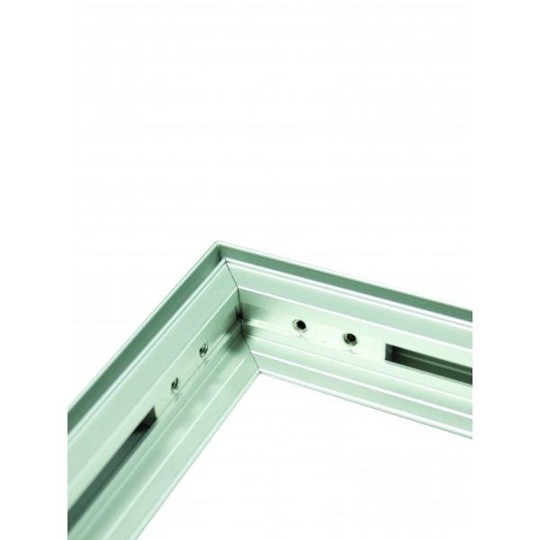 Quick fix lightweight aluminium frame
