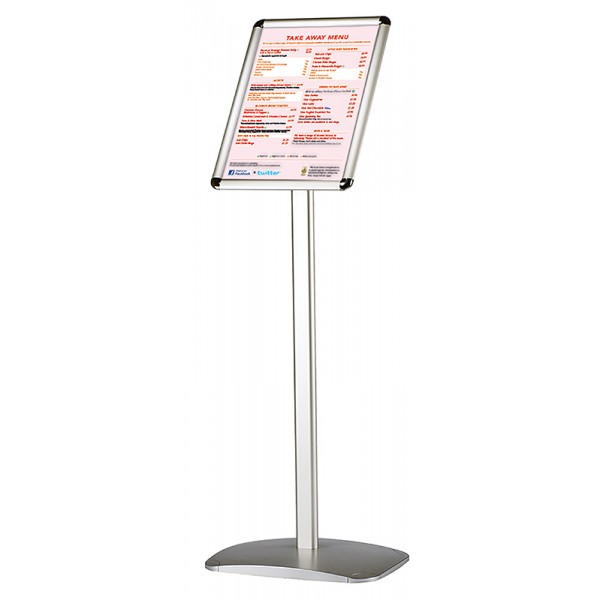Portrait Free Standing Sign Holder Display Stand