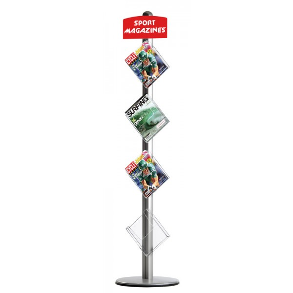 Freestanding Leaflet Dispenser