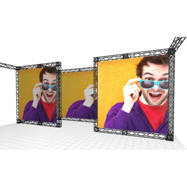 Fully custom printed backwalls