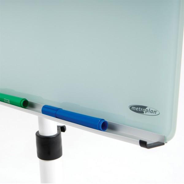 Full width pen tray