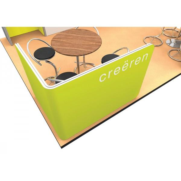 Modular meeting pod stand
