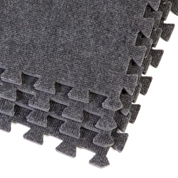 Grey exhibition flooring