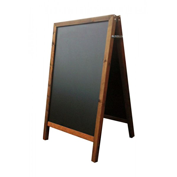 Budget chalk board