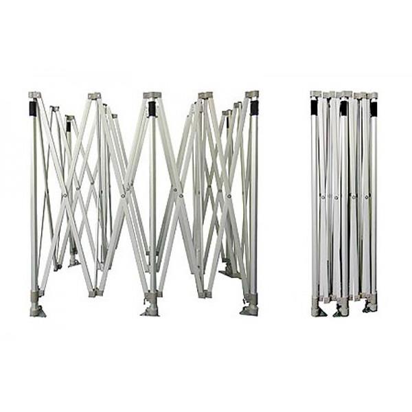 Folding tent frame